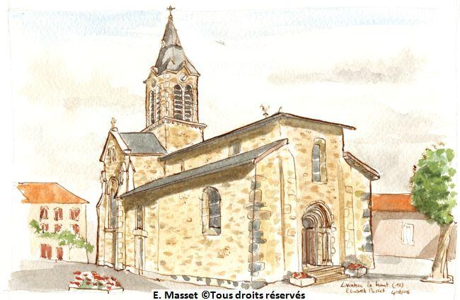 Juicebox gallery - Eglise dessin ...